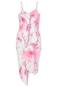 Quiz Oriental Print Bodycon Dress