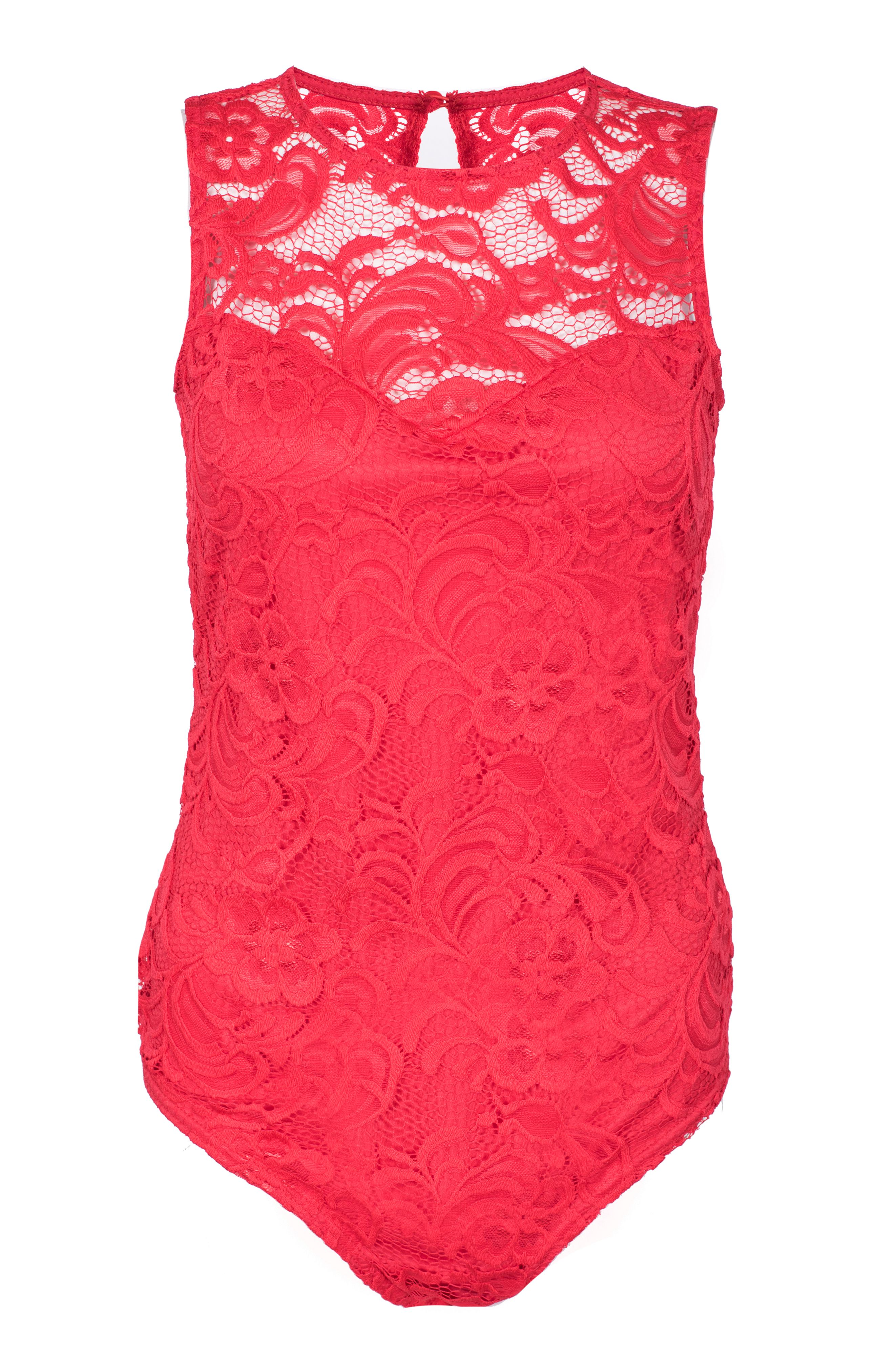 Lace bodysuit | Shop for cheap Women's Tops and Save online