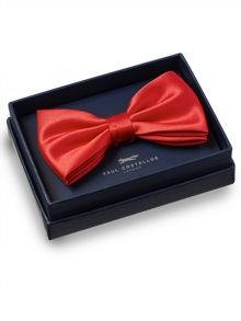 Paul Costelloe Red bow tie