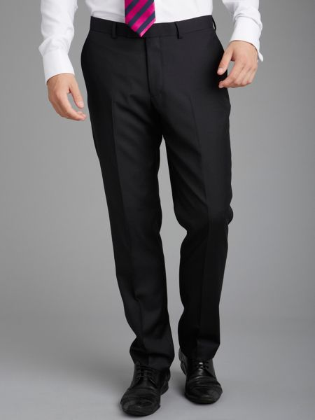 Paul Costelloe Ballinamore Slim Fit Black Suit Trousers