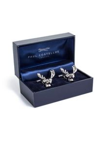 Paul Costelloe Antler head cufflink