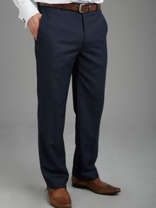 Castlederg Navy Birdseye Suit Trousers