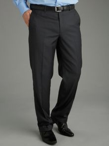 Baumler Tailored Grey Twill Suit Trousers