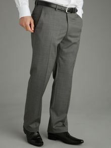 Baumler Grey Nailhead Suit Trousers