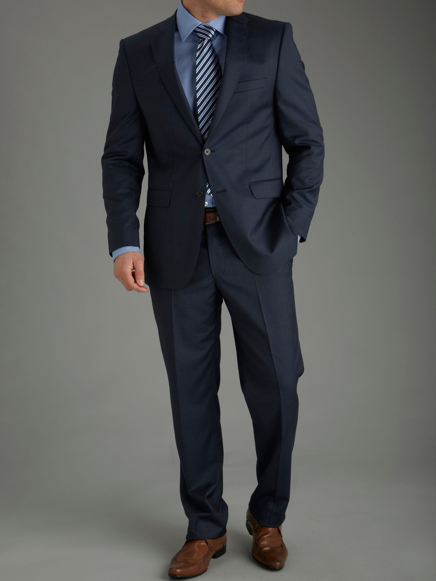 Cerruti navy superissimo suit