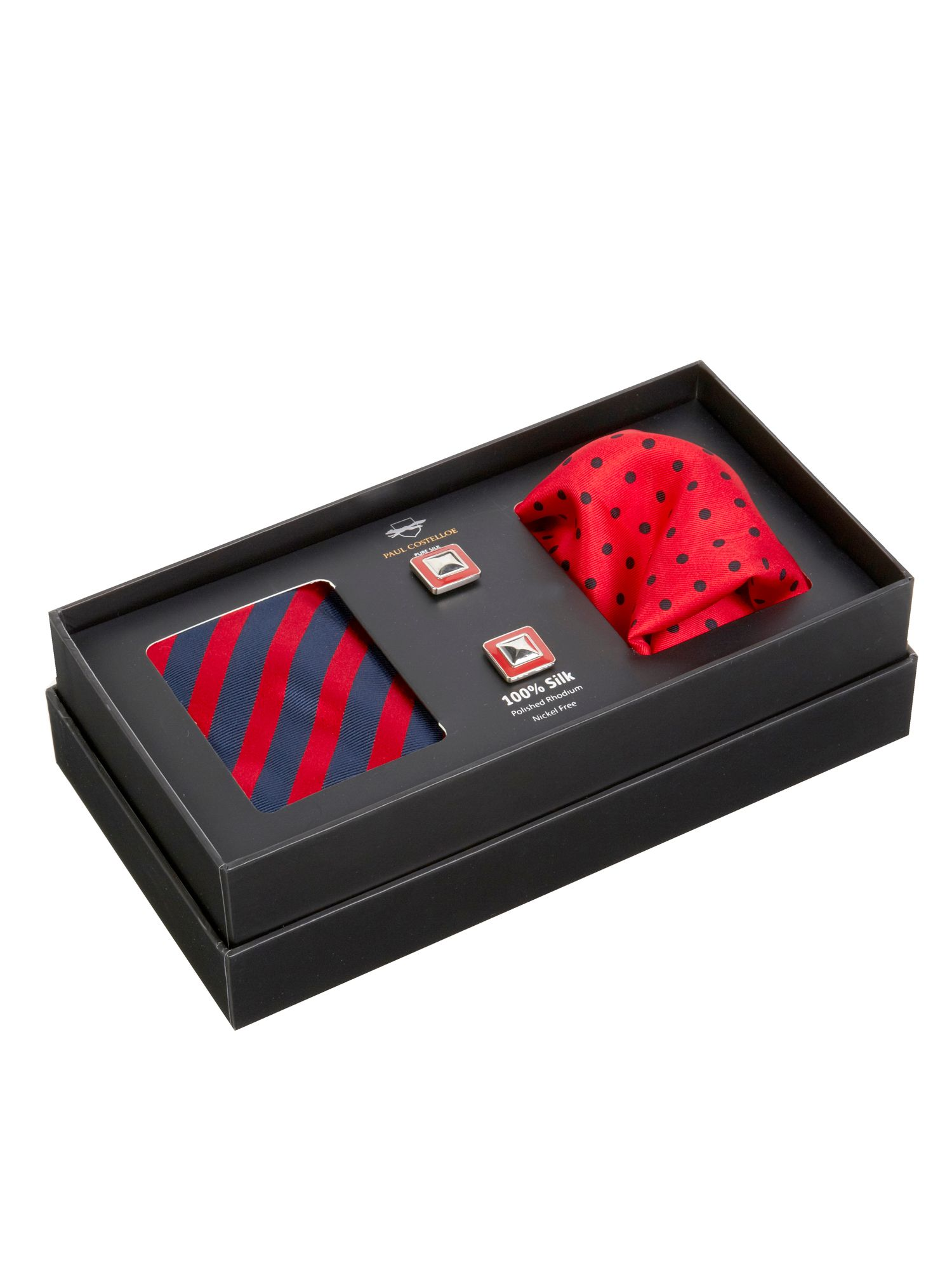 Red stripe gift set