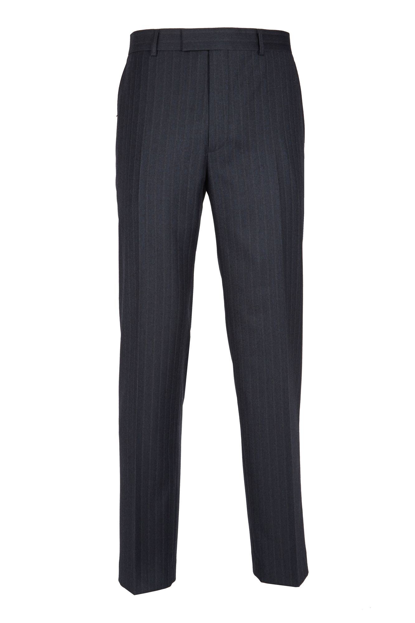 Airforce Blue Twin Stripe Trousers