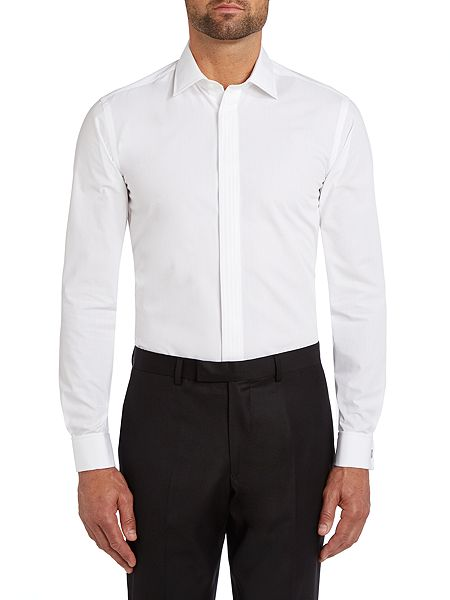 paul costelloe slim fit dinner shirt white house of fraser