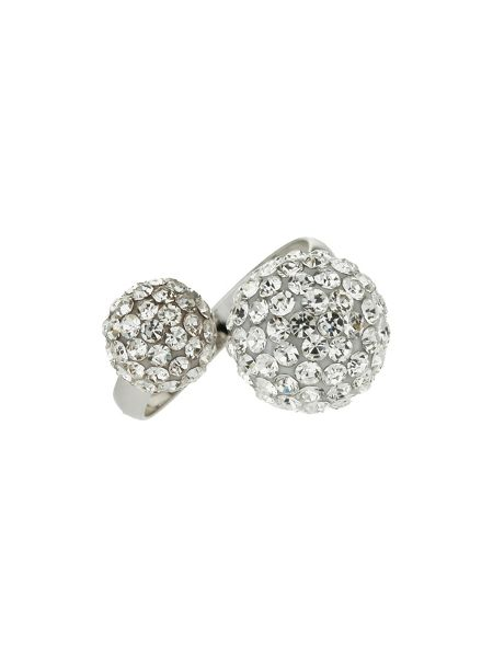 Mikey Twin stone cluster ring