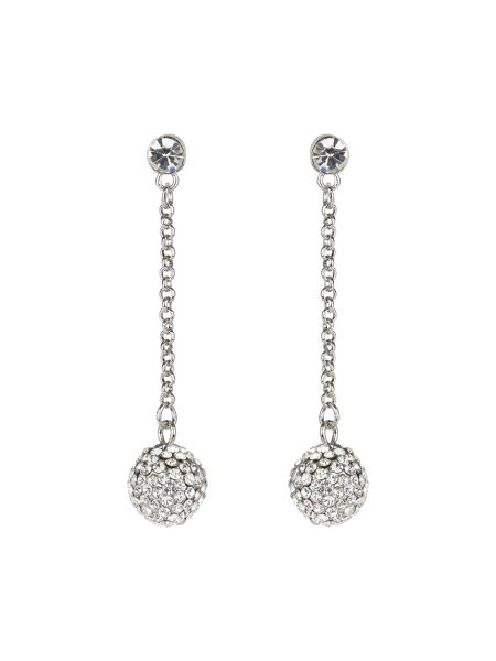 Mikey Crystal Long Drop Earring