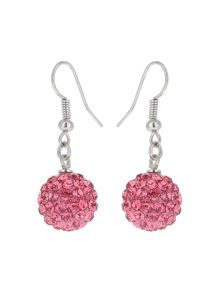 Mikey Crystal Drop Earring
