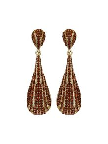 Mikey Large tear drop earrings