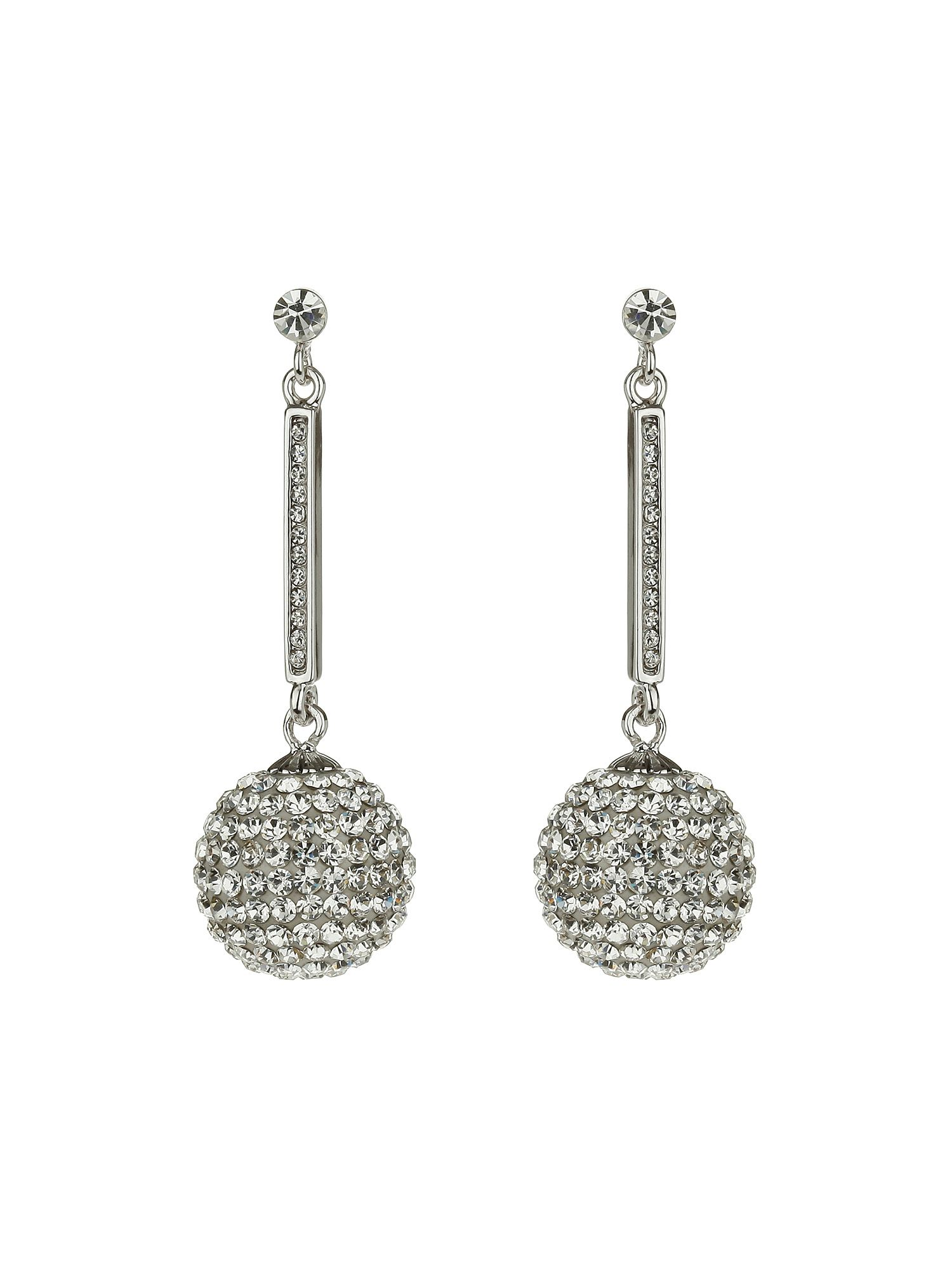 17mm ball drop earrings