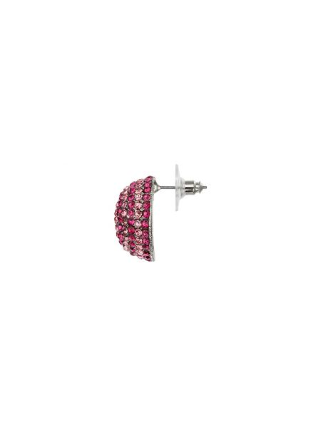 Mikey Two tone round earring