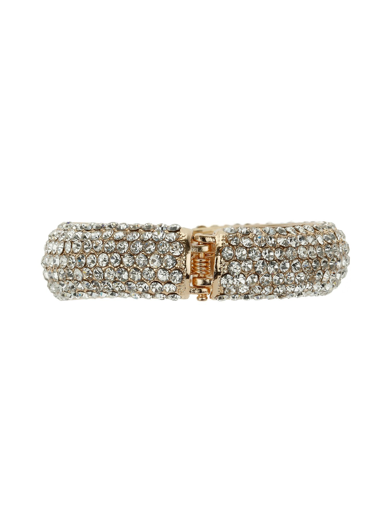Thin full crystal bracelt
