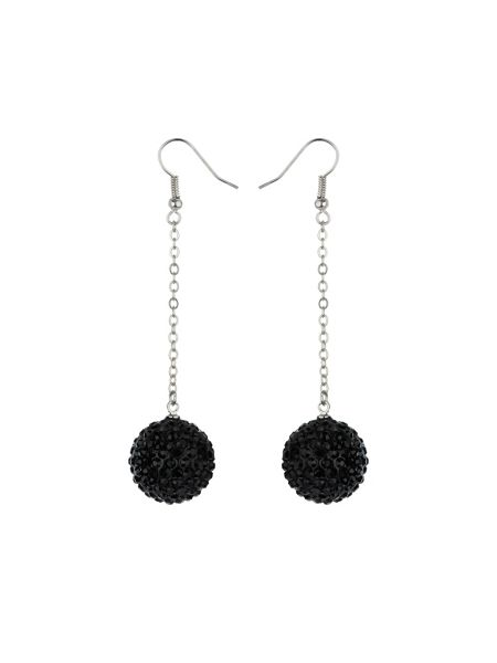 Mikey 18mm crystal drop earrings