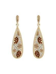 Mikey Oval flat earrings