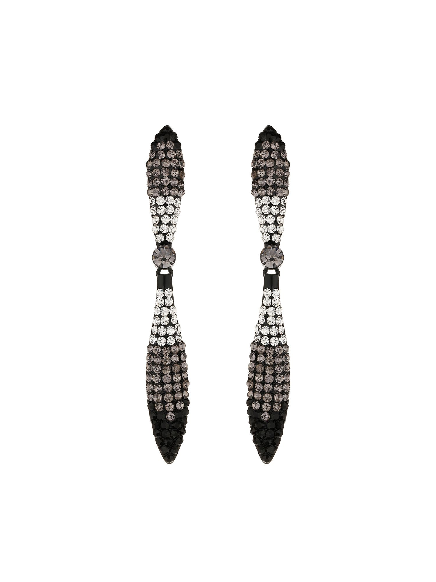 Long knife earrings