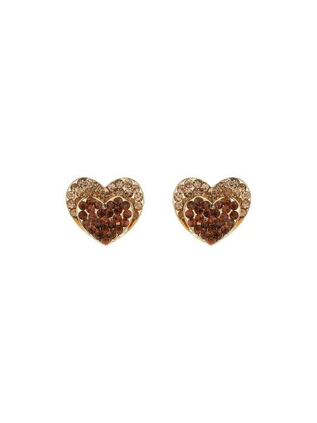 Mikey Double Heart Earring