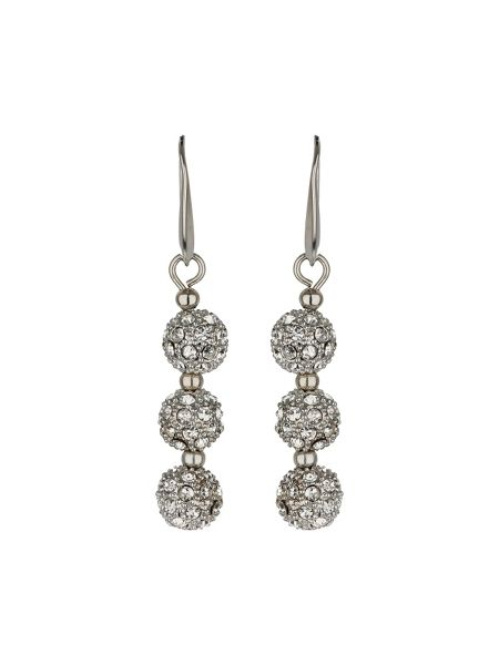 Mikey Crystal small heavy earrings