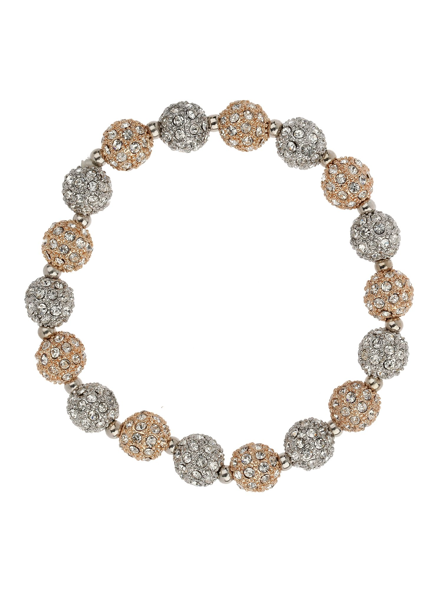 Crystal small heavy bracelet