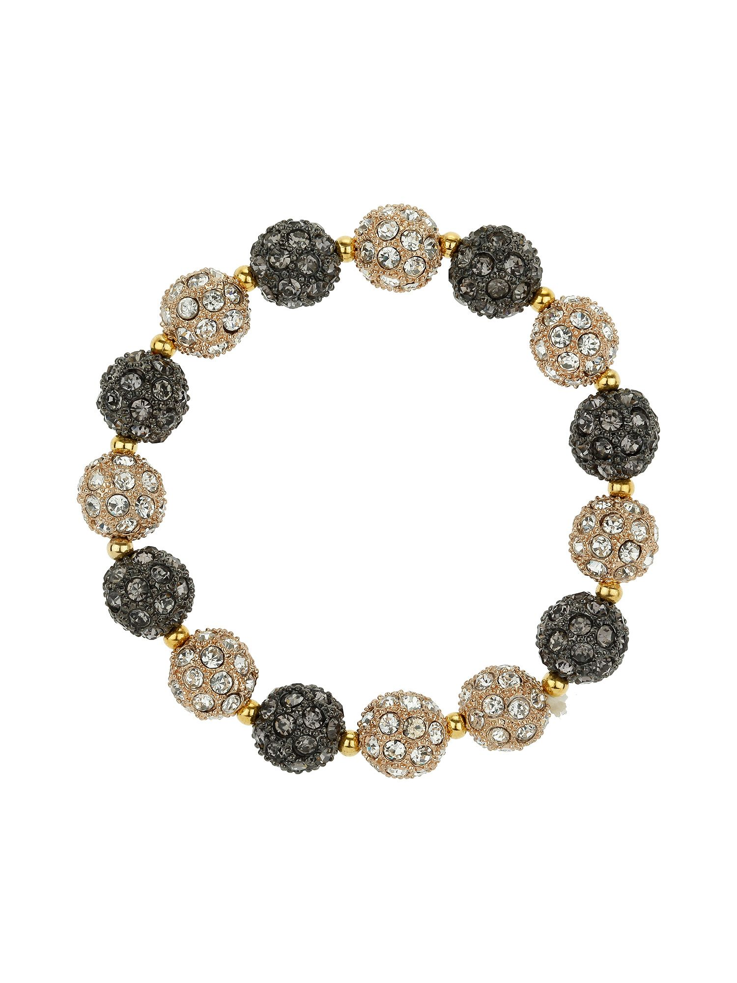 Heavy 15 pc ball bracelet