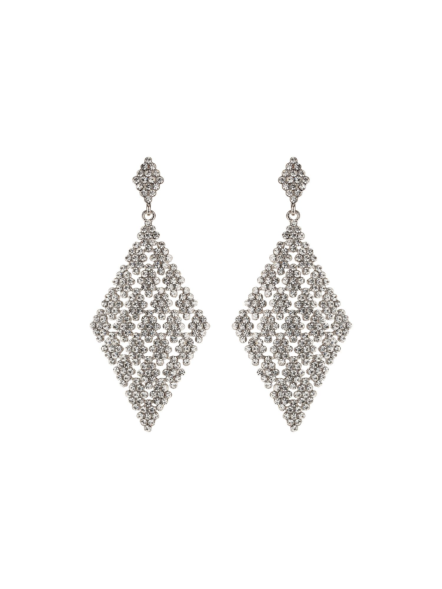 Diamond full earrings