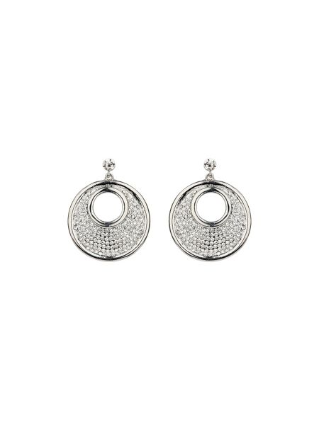 Mikey Large round earrings