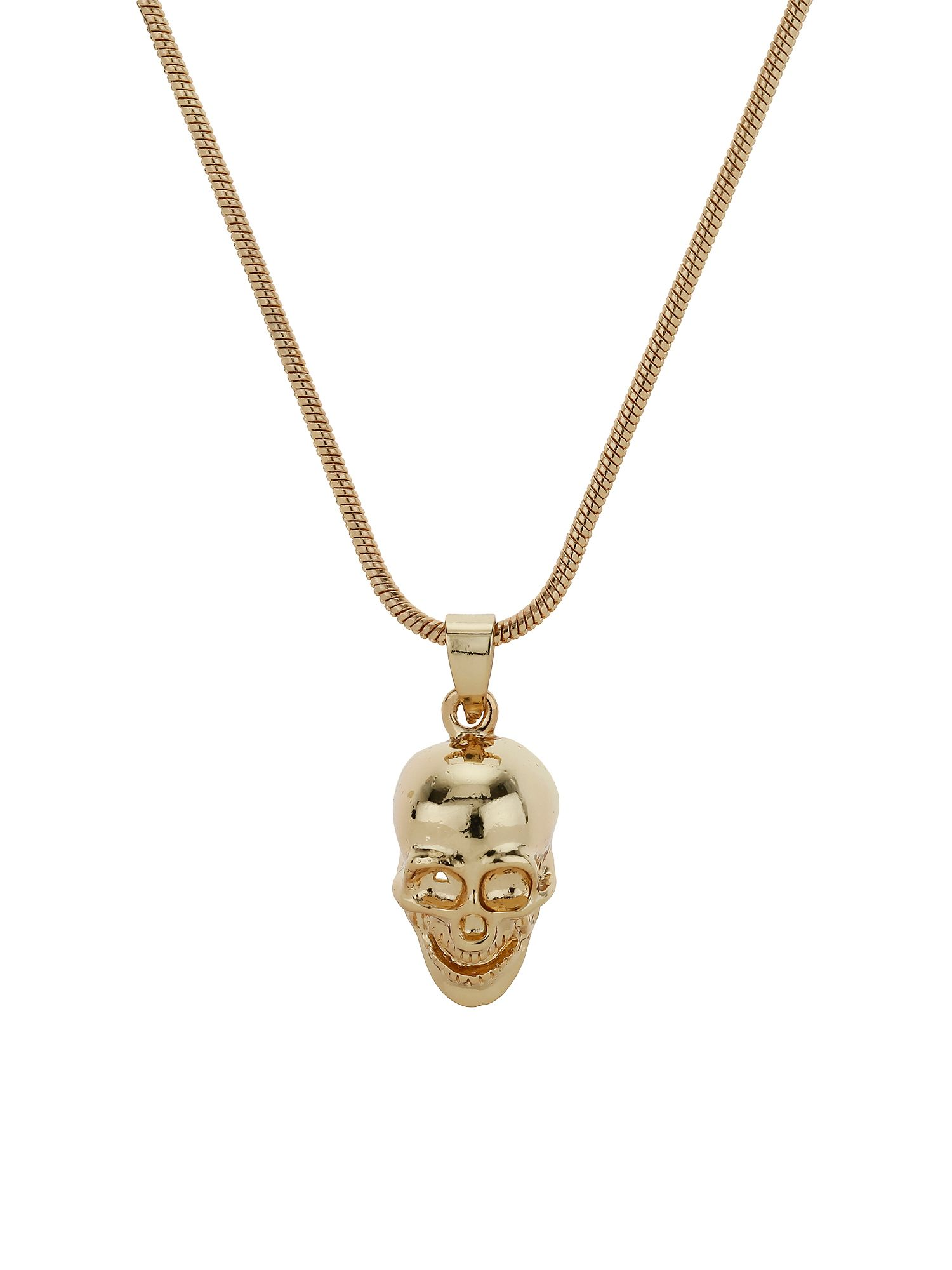 mikey skull necklace