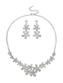 Mikey Daisy Flower Crystal Set