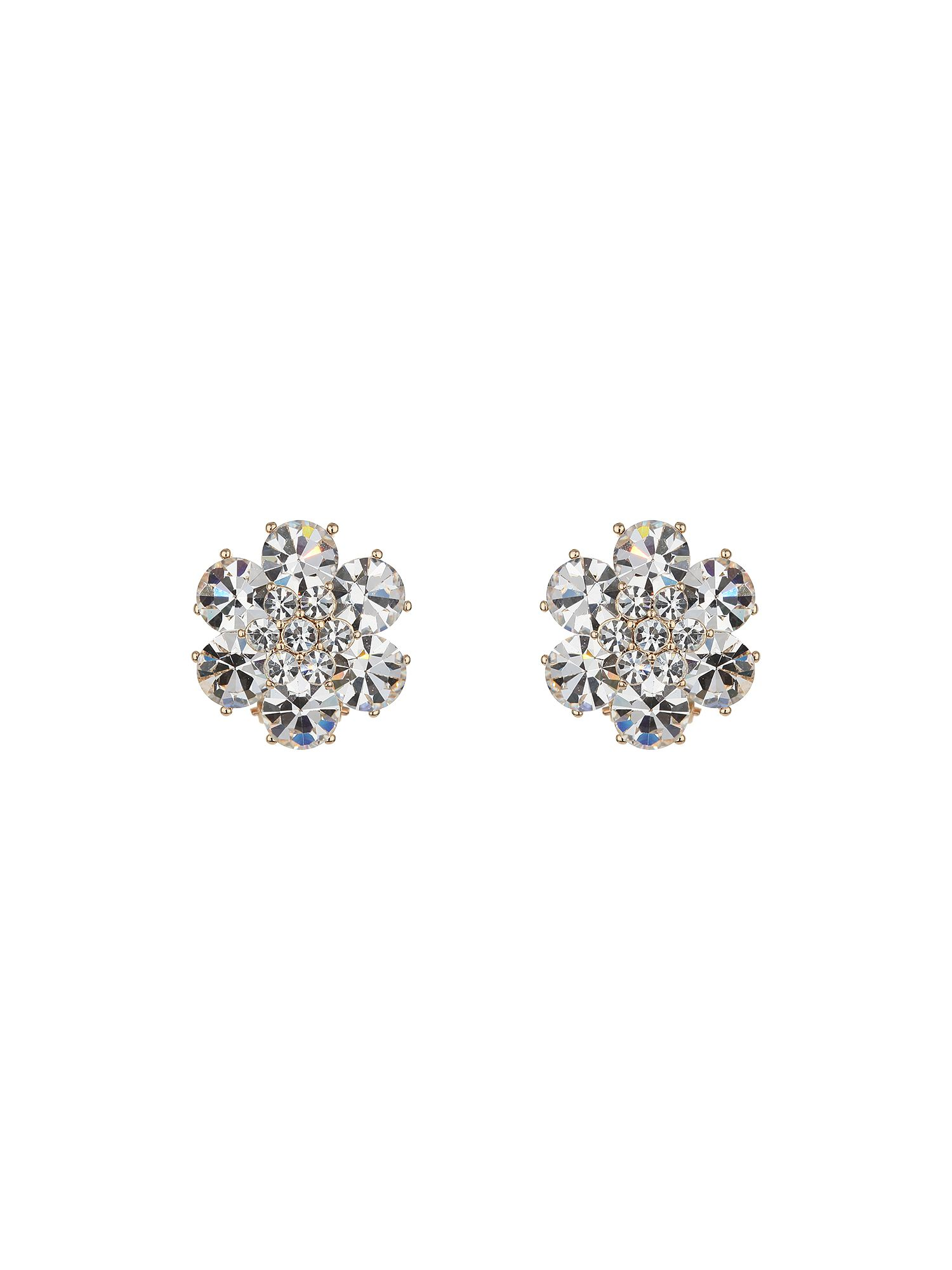 Daisy design stud earring