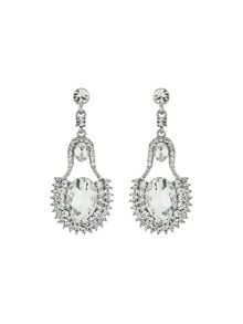 Bell shape crystal stone marquise drop