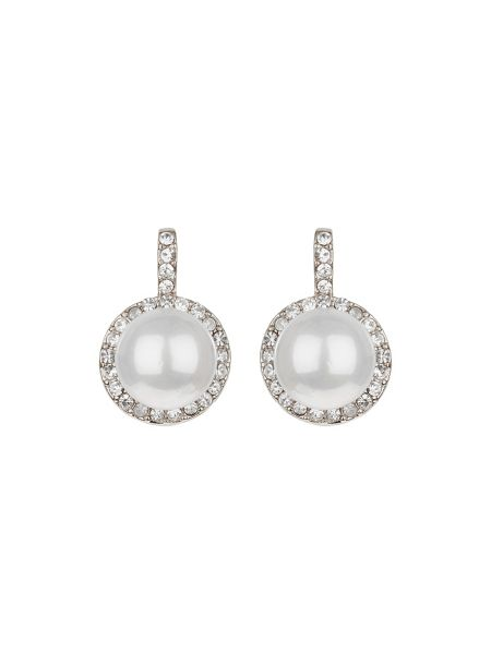 Mikey Pearl marquise crystal set & ring