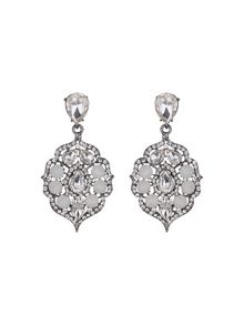 Fillagary hanging crystal earring