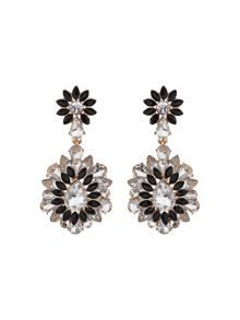 Drop fillagary flower earring