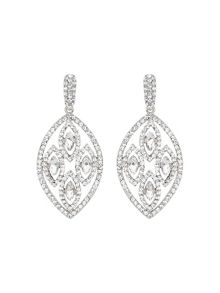 Filligree multi ovals drop earring