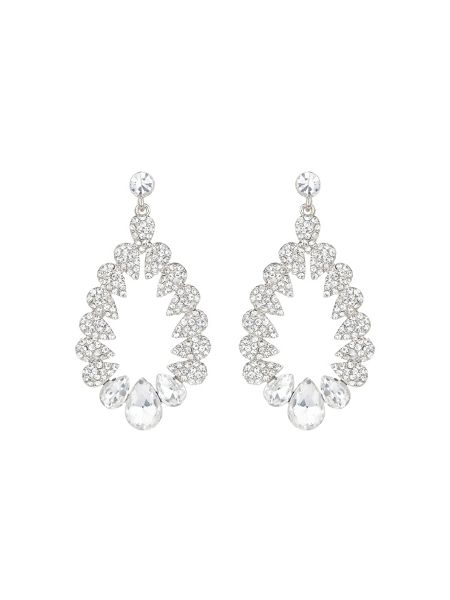 Mikey Multi oval marquise filligree earring