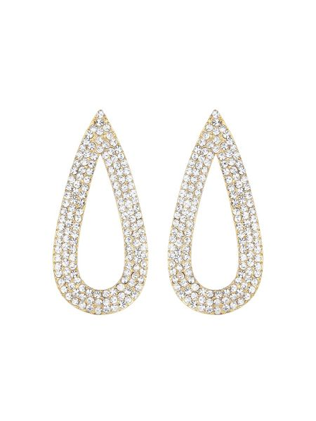 Mikey Flat eclipse marquise earring