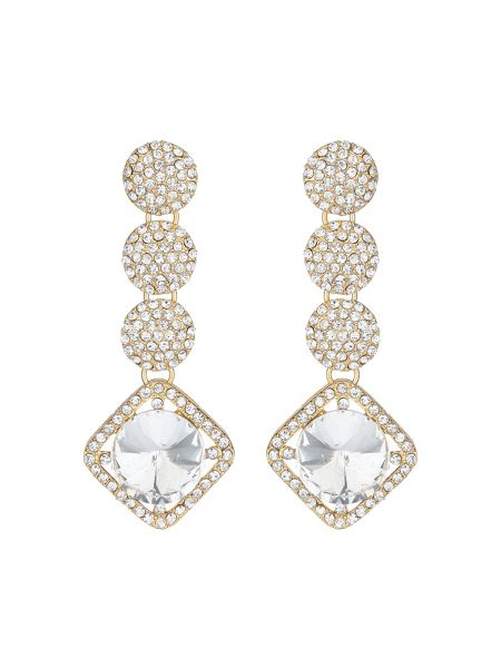 Mikey Multi round crystal drops earring