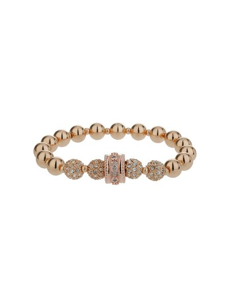 Mikey Cubic crystal ring ball elastic bracelet