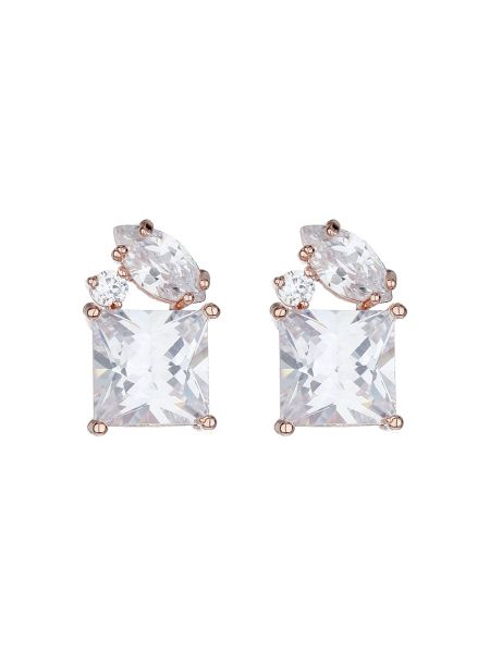 Mikey Cubic stud square cubic earring