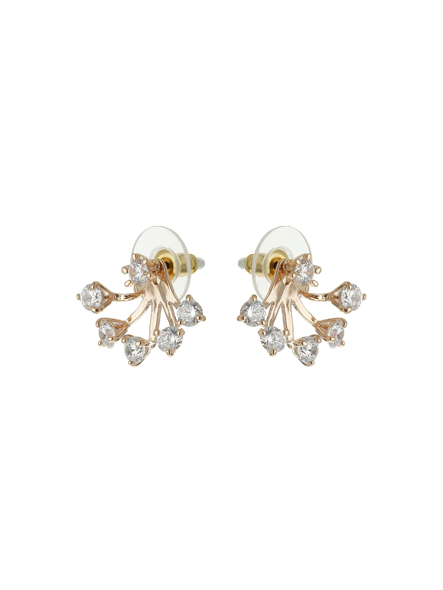 mikey spread design twin stud earring