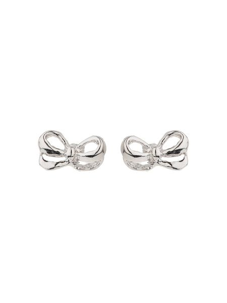 Mikey Silver 925 Bow Design Wire Stud