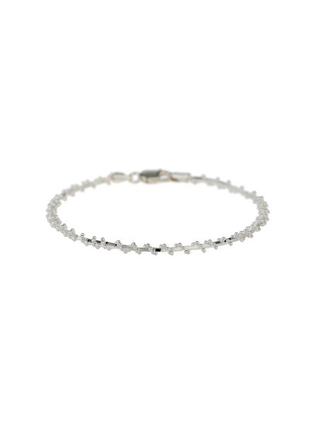 Mikey Silver 925 Twisted Rope Tennis Bracelet