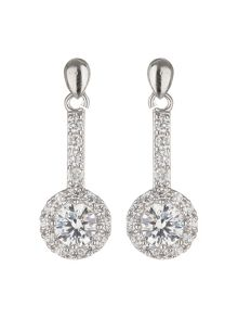 Mikey Filligree Drop Cubic Earring