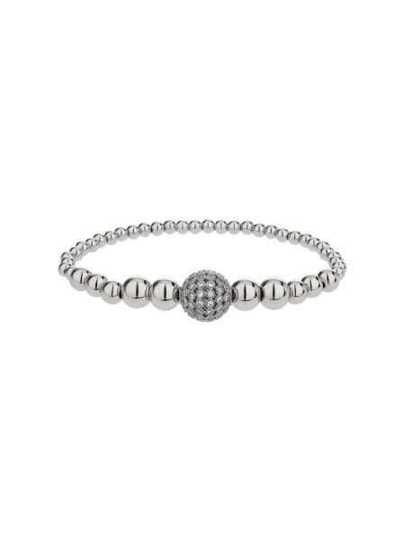 Mikey Fine cubic 12mm ball metal bracelet