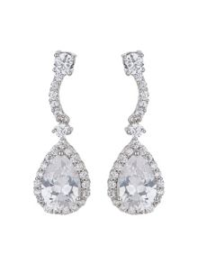 Mikey Eclipse Stone Short Drop Earring