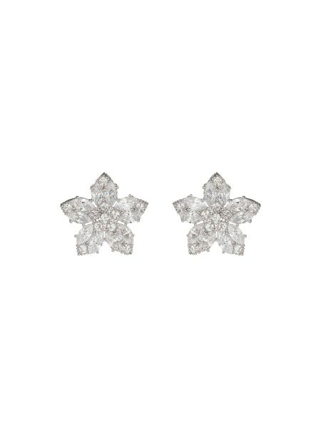 Mikey Flat Star Design Stud Earring