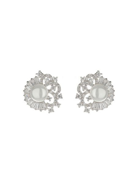 Mikey Pearl Centre Surround Filigree Stud