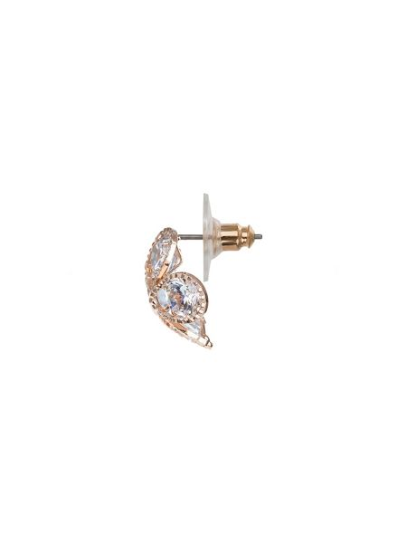 Mikey Dome shaped cubic stud earring
